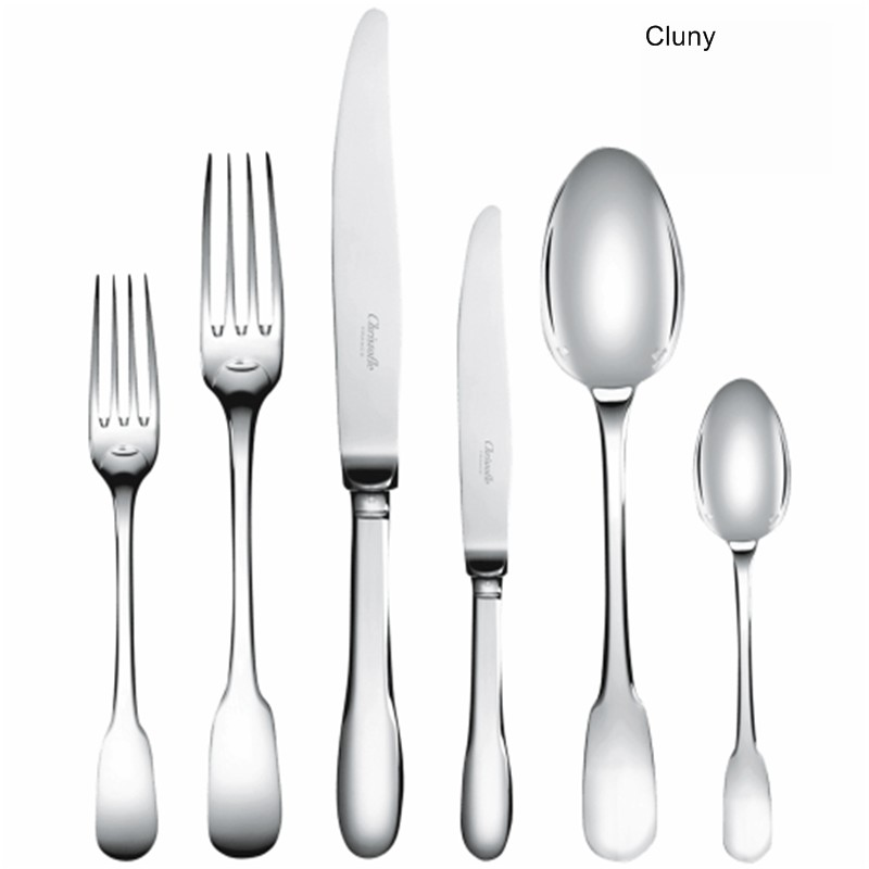 Cluny silver-plated cutlery set